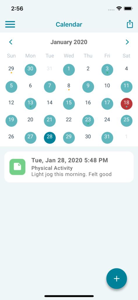 myWAPPS - Calendar View